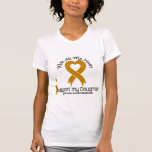 I Support My Daughter Appendix Cancer Tshirt