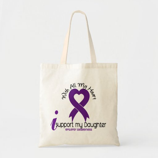 I Support My Daughter Epilepsy Bags