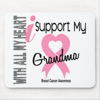 I Support My Grandma Breast Cancer Mousepads