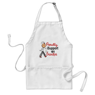 I Support My Grandpa SFT (Bone / Lung Cancer) Aprons