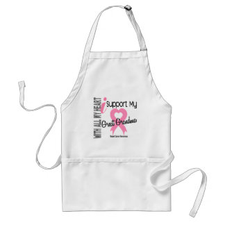 I Support My Great Grandma Breast Cancer Standard Apron