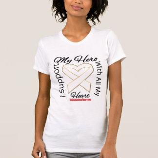 I Support My Hero - Retinoblastoma Awareness T-Shirt