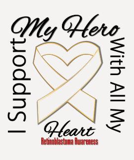 I Support My Hero - Retinoblastoma Awareness Tees