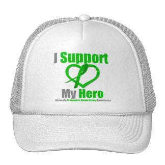I Support My Hero Traumatic Brain Injury Mesh Hats