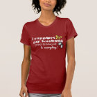 I Support My Husband - Red Fridays T-Shirt