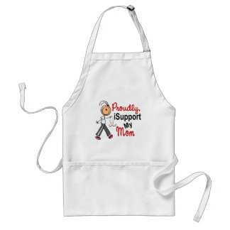I Support My Mom SFT (Bone / Lung Cancer) Aprons