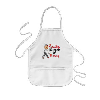 I Support My Mommy SFT (Bone / Lung Cancer) Apron