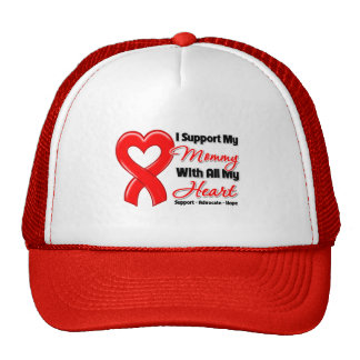 I Support My Mommy With All My Heart Cap