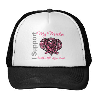 I Support My Mother Breast Cancer Awareness Cap