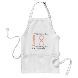I Support My Sister-in-Law - Uterine Cancer Apron