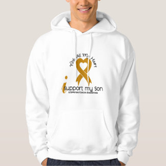 I Support My Son Appendix Cancer Hoodie