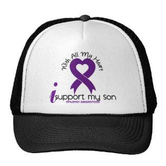I Support My Son Epilepsy Cap