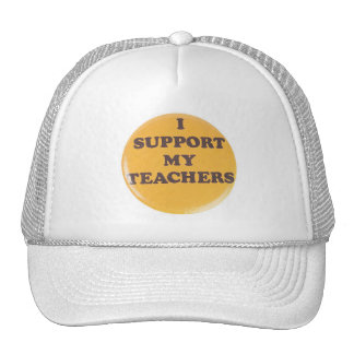 I SUPPORT MY TEACHERS MESH HAT