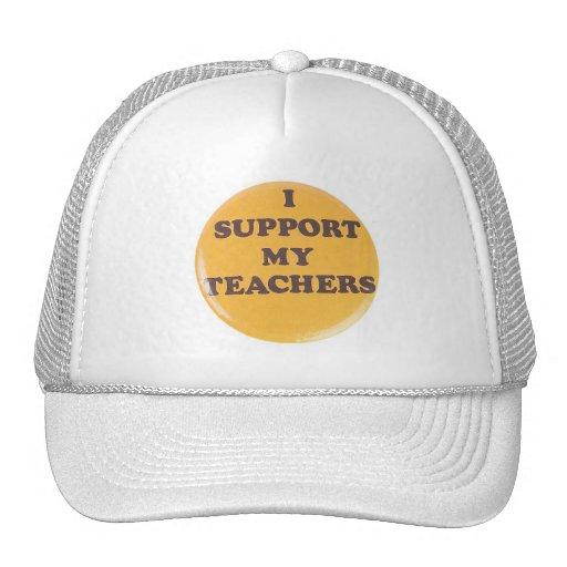 I SUPPORT MY TEACHERS MESH HAT