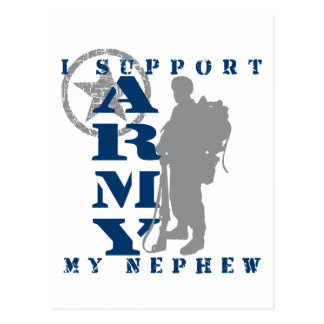 I Support Nephew 2 - ARMY Postcard