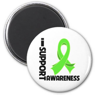 I Support Non-Hodgkin's Lymphoma Awareness 6 Cm Round Magnet