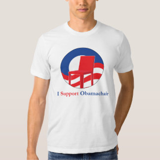 I Support Obama-Chair Tee Shirt