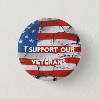 I SUPPORT OUR VETERANS AMERICAN FLAG PIN