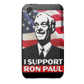 I Support Ron Paul for President in 2012 iPhone 3 Cases