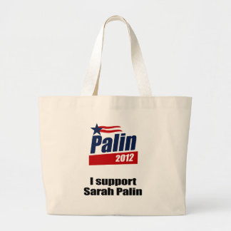 I support Sarah Palin Bag