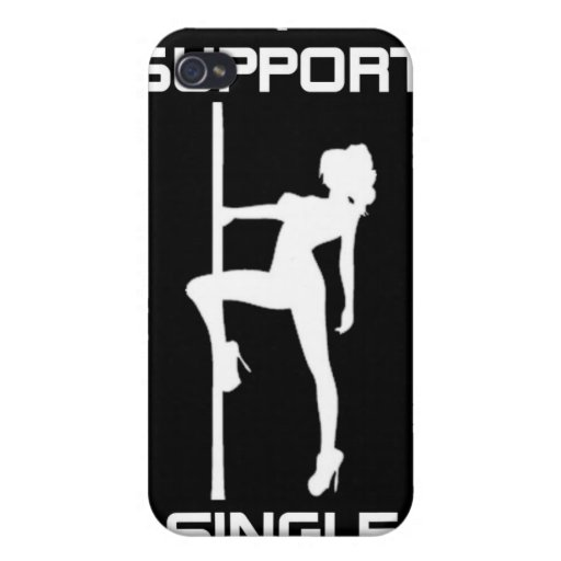 I Support Single Moms iPhone 4 Case