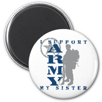 I Support Sister 2 - ARMY Fridge Magnets