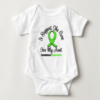 I Support The Cure For My Aunt Baby Bodysuit