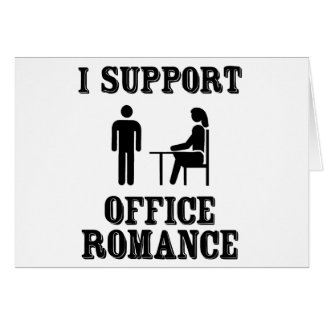 I Support The Office Romance Card