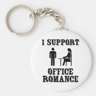 I Support The Office Romance Key Ring