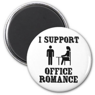 I Support The Office Romance Magnet