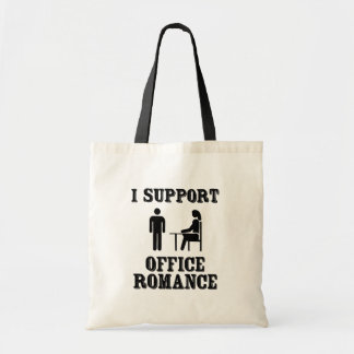 I Support The Office Romance Tote Bag