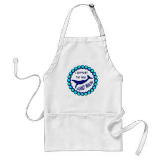 I SUPPORT THE WAR AGAINST WHALING STANDARD APRON