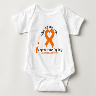 I Support Those Fighting Leukemia Baby Bodysuit