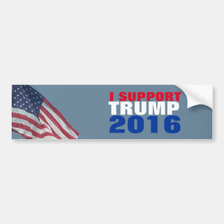 I Support Trump 2016 Election for President Bumper Sticker