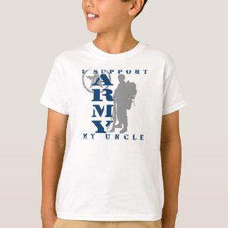 I Support Uncle 2 - ARMY T-Shirt