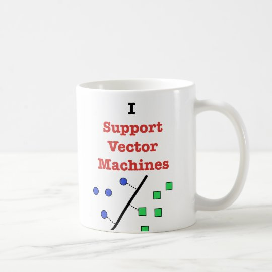 I Support Vector Machines Coffee Mug