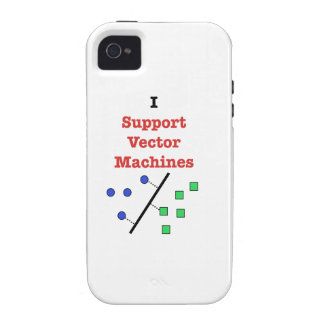I Support Vector Machines iPhone 4 Cases