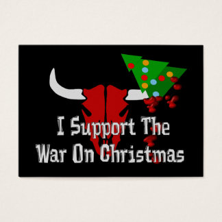 I Support War On Christmas
