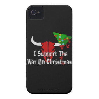 I Support War On Christmas Blackberry Bold Covers