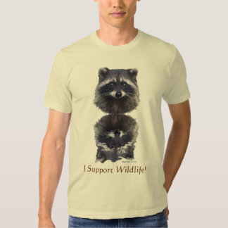 """I SUPPORT WILDLIFE!"" Tees & Hoodies"