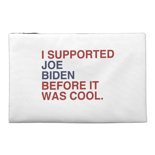 I SUPPORTED JOE BIDEN BEFORE IT WAS COOL -.png Travel Accessories Bags