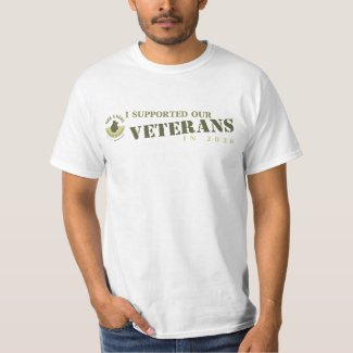 I Supported Our Veterans in 2020 - Classic T-Shirt