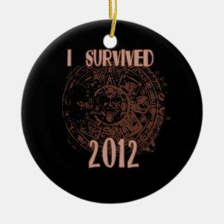 I Survived 2012 Ornament