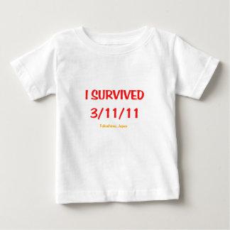 I Survived 3/11/11 Shirts