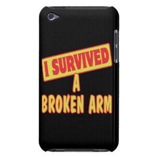I SURVIVED A BROKEN ARM iPod TOUCH COVER