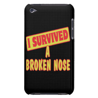 I SURVIVED A BROKEN NOSE BARELY THERE iPod CASES