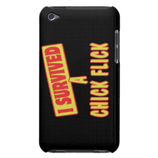I SURVIVED A CHICK FLICK BARELY THERE iPod COVERS