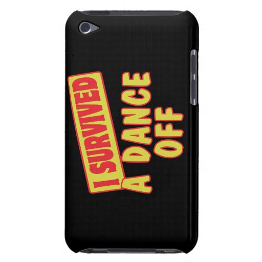 I SURVIVED A DANCE OFF BARELY THERE iPod COVER