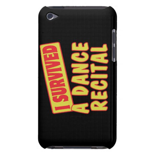 I SURVIVED A DANCE RECITAL BARELY THERE iPod CASES