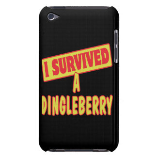 I SURVIVED A DINGLEBERRY BARELY THERE iPod CASE